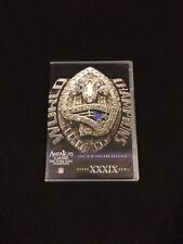 New England Patriots Super Bowl XXXIX 39 DVD - America's Game Series