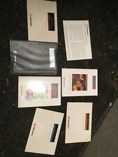 Vauxhall Carlton Owners Manual Drivers Information Pack Handbooks