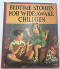 Antique Old Bedtime Stories McLOUGHLIN Bros NY Children's Book - Free Shipping!