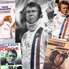 Steve McQueen Le Mans Multi ART PRINT..