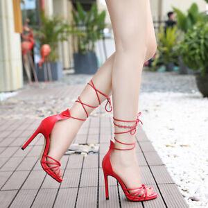 Trans Shoes Men's Heels Strappy Sandals Black Crossdresser Drag Queen Queer Plus