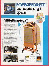 Pubblicità Advertising Werbung 1998 Il mettimpiega FOPPA PEDRETTI