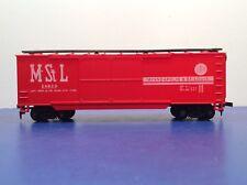 "HO Scale ""Minneapolis & St Louis"" Freight Train Box Car 54650"