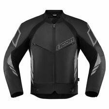 Icon Hypersport 2 Motorcycle Motorbike Jacket Black | All Sizes