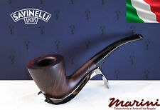 Pipa Pipe Capitol Bruyere by Savinelli radica verniciata scura 920 KS curva