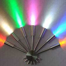 7W LED Wall Sconces Light Multi Color Lamp Fixture Fan Shape Lighting KTV Hotel