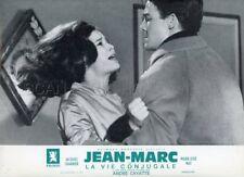 MARIE -JOSE NAT JACQUES CHARRIER LA VIE CONJUGALE 1964 LOBBY CARD ORIGINAL #1