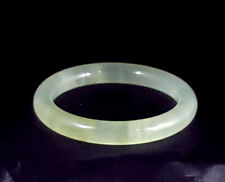 Natural Icy Watery Translucent Green Jade Bangle Bracelet 59.49mm - 78.75mm