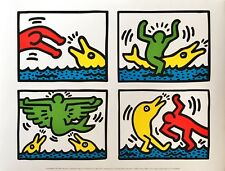 "KEITH HARING ""POP SHOP V "" OFFSET LITHOGRAPH ON PAPER"