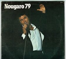 "33T Claude NOUGARO Disque LP 12"" 1979 Enregistrement Public BARCLAY 91019"