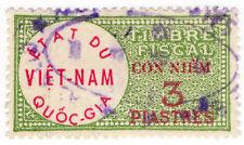 (I.B) Vietnam Revenue : Duty Stamp 3pi