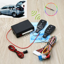 2 Remote Car Control Central Door Lock System Locking Security Keyless Entry Kit