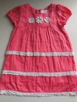 PRETTY 'PUMPKIN PATCH' BABY GIRL PARTY DRESS SIZE 0 FITS 6-12M * LIKE NEW