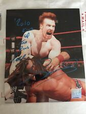 SHEAMUS WWE 2010 King Of The King SIGNED 8x10 PHOTO Autograph With COA