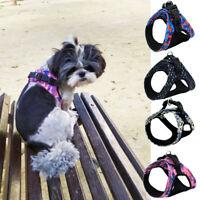 Pet Dog Adjustable Harness Vest Small Medium Dogs Cat Puppy Walking Harness Vest