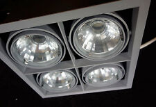 Illuma Framelight Ceiling Spot Light Recessed Downlight, 4 Tilt Adjust Spotlits