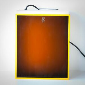 Vintage Darkroom 10 X 12in. Kodak Safelight Filter Wratten Series OC