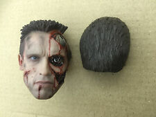 1/6 hot toys The Terminator T-800 (Battle Damaged ver. MMS238) -  Head Sculpt  V