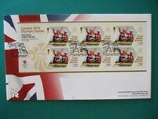 2012 LONDON 2012 OLYMPICS GOLD MEDAL WINNER FDC : TEAM GB WOMENS PAIRS ROWING