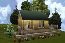 16x24WL Cabin w/Loft Plans Package, Blueprints, Material List