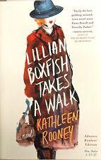 NEW Lillian Boxfish Takes a Walk Kathleen Rooney ARC ADVANCE READER COPY Book PB