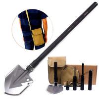 Camping Folding Shovel Survival Kit Tactical Hunting EDC Emergency Multi-Tool