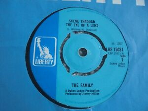 The Family - Scene Through The Eye Of A Lens 1967 UK 45 LIBERTY PSYCH