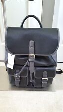 New  ROBERT GRAHAM Leather Backpack in Black