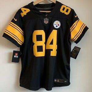 NWT Nike Antonio Brown Pittsburgh Steelers NFL Football Jersey Women's Large
