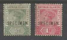 Mint No Gum/MNG Caymanian Stamps