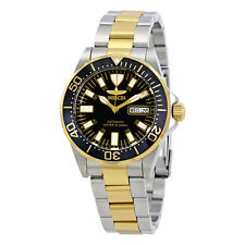 Invicta Sapphire Diver Two Tone Stainless Steel Mens Watch 7045