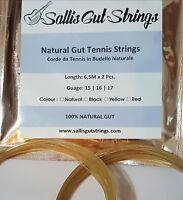 Corde da tennis in budello naturale / Natural gut tennis strings