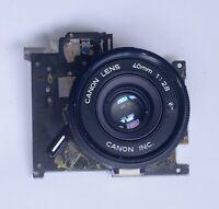 CANON Datelux A35 Lens Assembly Vintage Rangefinder 35mm Film Camera Parts