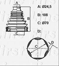 CV JOINT BOOT KIT FOR MINI MINI COUNTRYMAN FCB6396