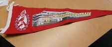 Rare 70th Anniversary Freedom Train Red Felt Pennant Flag Banner Sign 1947-2017