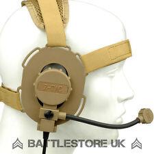 Z Tactical Bowman Evo III Headset Airsoft Mic Radio Boom 3 Tan zTactical Z029 UK