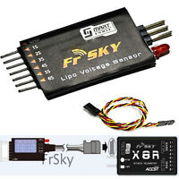 New upgade Sensor &Display  Frsky FLVSS Lipo Voltage For 2-Way Telemetry System#