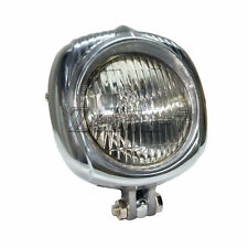Clear Motorcycle Polish Headlight Lamp Vintage  Sealed Beam for Harley Chopper