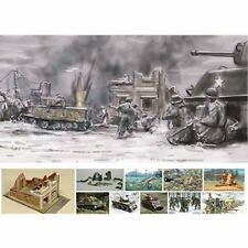 BATTLE OF BASTOGNE SET DECEMBER 1944 - SOLDIERS 1:72 - Italeri 6113