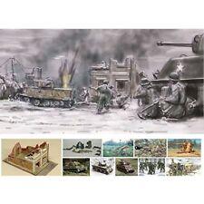 Bataille de bastogne set décembre 1944 soldats - 1:72 - italeri 6113