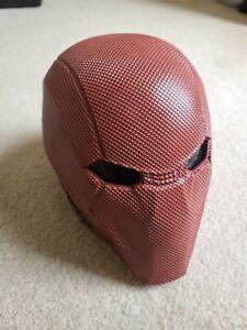 Xcoser Injustice 2 Red Hood Resin Helmet Game Cosplay Mask