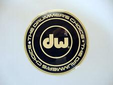 DW DRUM WORKSHOP THE DRUMMERS CHOICE DECAL STICKER CASE RACK BUMPER STICKER NEW