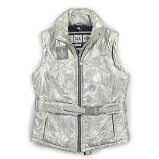 GAASTRA GA-18 Damen Weste M 38 Steppweste silber Woman Vest Jacke Bodywarmer TOP