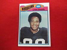 1977 Topps Lynn Swann    football card Steelers    #  195