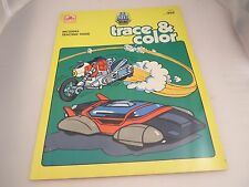 GoBots Trace and Color book, unused