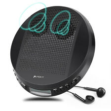 Portable CD Player for Car with Stereo Speakers and Headphones Anti-Skip MP3 AUX