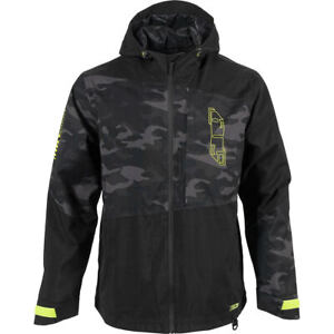 509 FORGE JACKET SHELL Snowmobile Snow Non-Insulated -Black Camo- MEDIUM  or 3XL