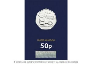 2020 WINNIE THE POOH BU UNCIRCULATED 50P FIFTY PENCE - OFFICIAL UK ISSUE
