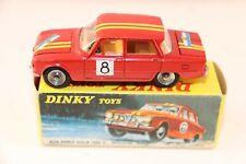 Dinky Toys 1401 Alfa Romeo Giulia 1600 Ti Rallye 99.9% mint in a super box