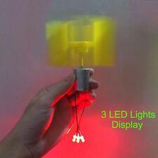 Small DC motor wind turbines generator blades LED Light DIY kit  Vertical micro
